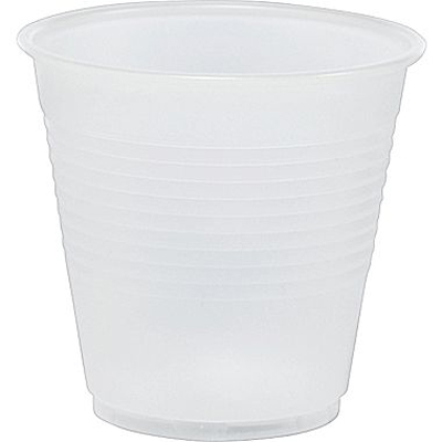 Cups Plastic Translucent 5oz 100/Pk