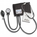 "BP Kit Home Use Adult Latex Cuff w/ 22"" Stethoscope Black Ea"