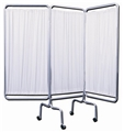 Privacy Screen 3-Panel - White
