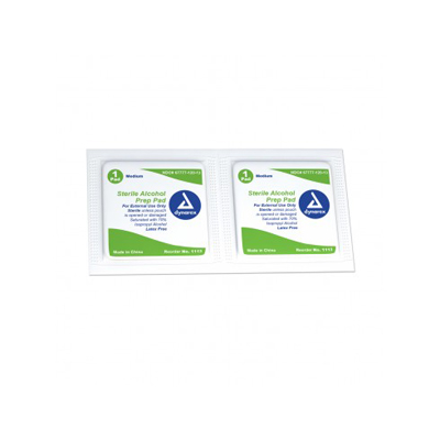 Alcohol Prep Pad Sterile medium 20/100/Cs