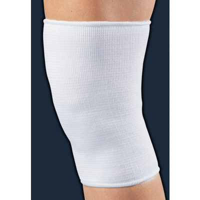 support knee white elastic small