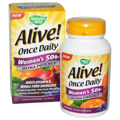 Alive!® Once Daily Women's 50+ Multi Ultra Potency