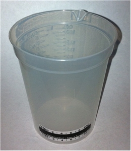 190 ML/6.5 BEAKER W/TEMP STRIP ( # 39416 ) 500 per case