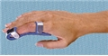 "Splint Finger Baseball Sm 4 Prong 3.5"" Blue Foam Padded 12/Pk"