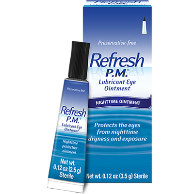 Refresh P.M. Ointment for Nighttime Dry Eye