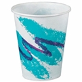 Cup Cold Paper Wax Jazz-3 oz 100/pk, 50 PK/Case