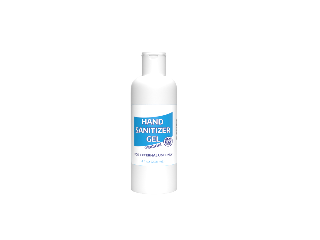 Hand Sanitizer Gel, 4oz <span style='color:#1ea61e;'> - Available to Ship</span>