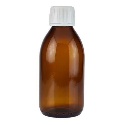 8oz Child Resistant Syrup Bottle (Case of 100)