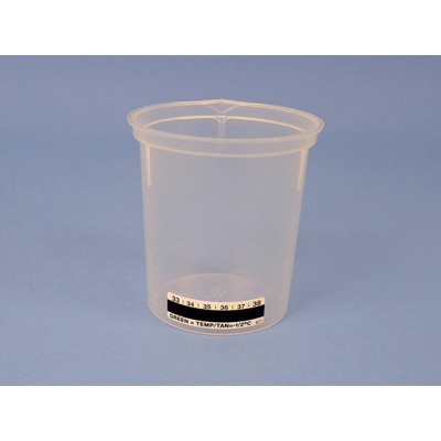 Urine Beaker -120 mL w/Label