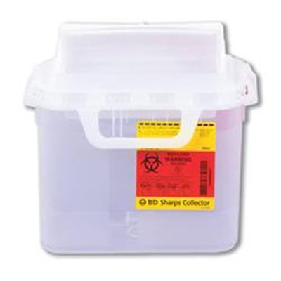 Guardian Sharps Nestable Container-Pearl-5.4 qt
