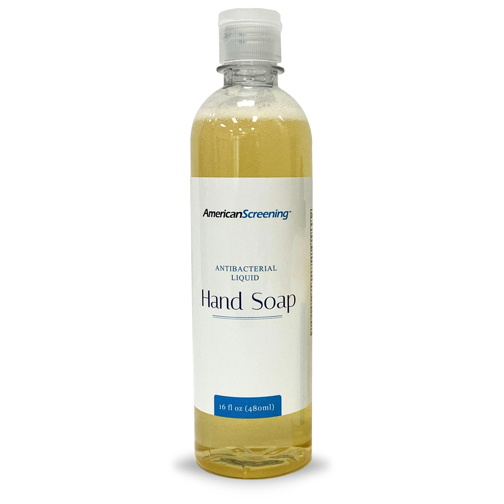 Antibacterial Liquid Hand Soap, 16oz