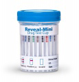 REVEAL MINI 6 PANEL CUP w/ads (Case of 25) - (THC/COC/OPI300/mAMP/MDMA/OXY) (PH/OXI/NIT/CREA/GLUT) - EXPIRES 2-28-18