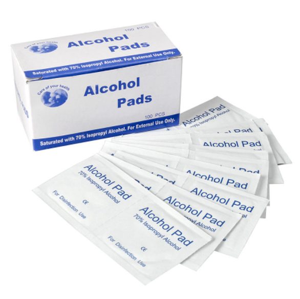 Alcohol Prep Pads Sterile  <span style='color:#1ea61e;'> - Available to Ship</span>