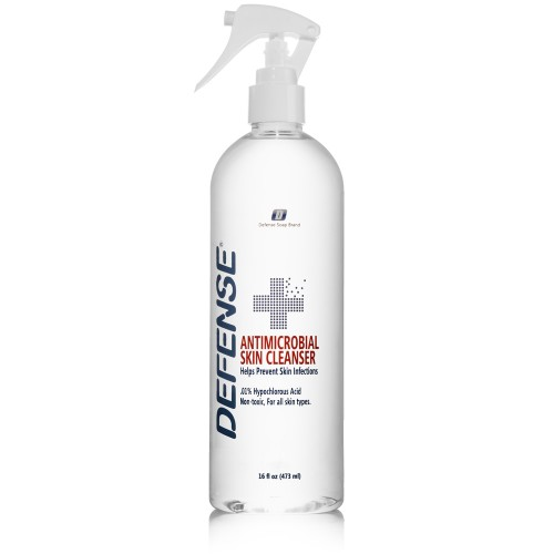 Defense Antimicrobial Skin Cleanser - 16 oz.