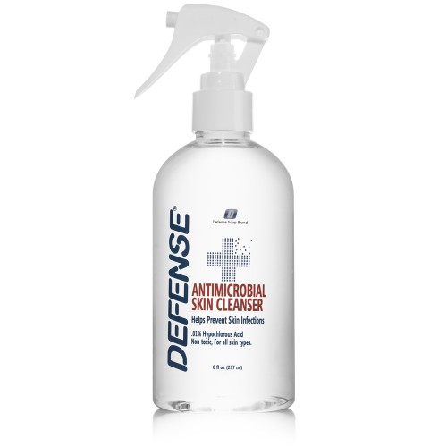 Defense Antimicrobial Skin Cleanser - 8 oz.