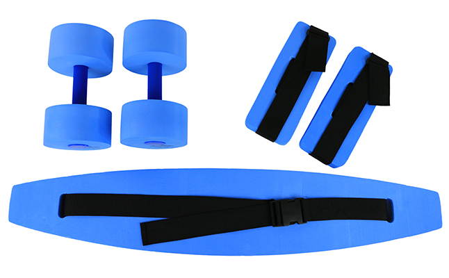 CanDo® Deluxe Aquatic Exercise Kit - Large Blue