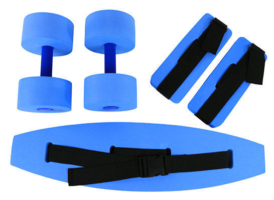CanDo® Deluxe Aquatic Exercise - Medium Blue