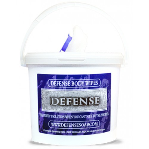 Defense Bucket of Wipes - 400 wipes