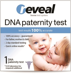 Reveal™ DNA Paternity Test Collection Kit - New Retail Design-Wholesale Retail Kit