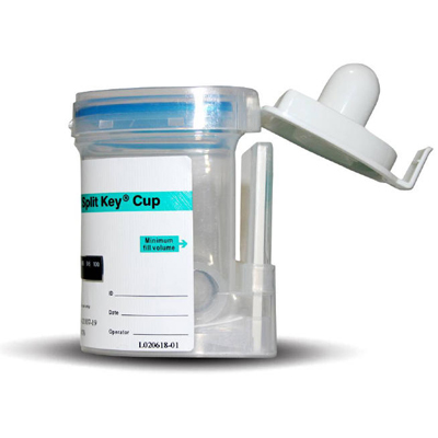5 Panel Key Urine Cup II - THC/COC/AMP/OPI/PCP