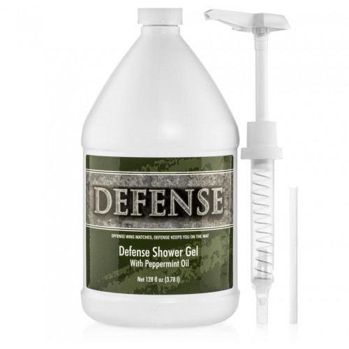 Defense Peppermint Shower Gel - Gallon (128 oz.)