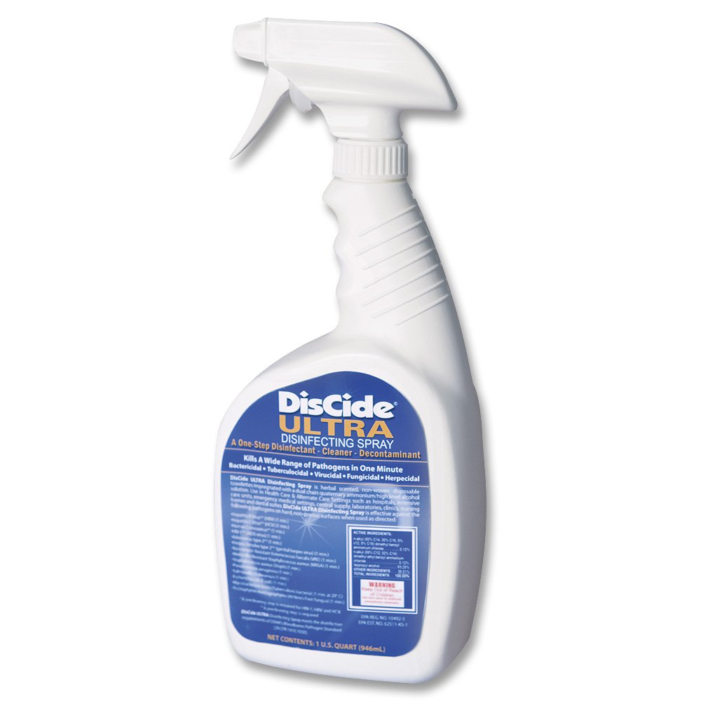 Discide Ultra Disinfectant 32oz <span style='color:#1ea61e;'> - Available to Ship</span>