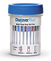 DISCOVER PLUS 12 PANEL URINE CUP  - (THC/COC/AMP/OPI/PCP/BAR/BZO/MTD/MDMA/OXY/BUP/TCA)