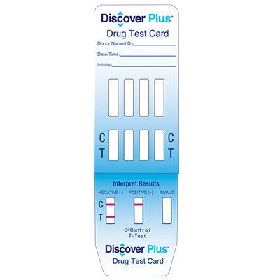 DISCOVER PLUS 1 PANEL URINE DIP CARD  - (THC)