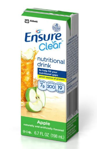 Ensure Clear Nutritional Supplement - Apple
