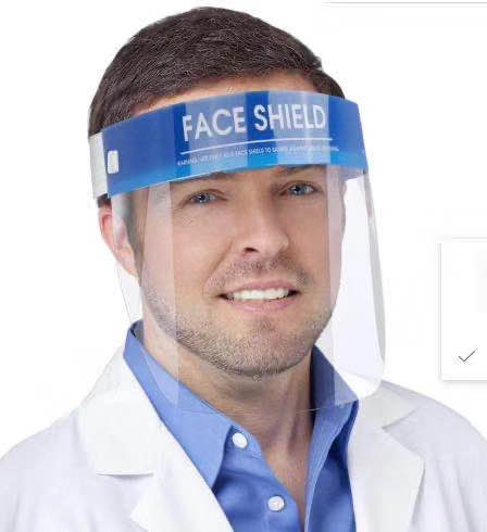 Protective Face Shield <span style='color:#1ea61e;'> - Available to Ship</span>