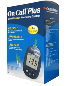 On Call Plus Glucose Monitor System /STARTER KIT	..