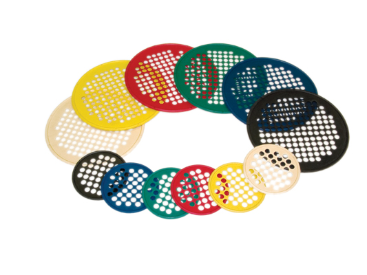 "CanDo® Hand Exercise Web - 6 pc set, Latex Free, 7"" Diameter"