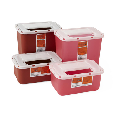 Biohazard Multipurpose Sharps Containers 1 Gal.