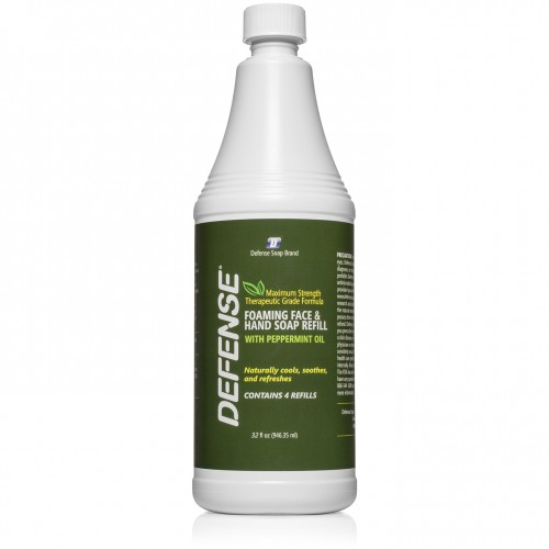 Defense Peppermint Foaming Refill - 32 oz.
