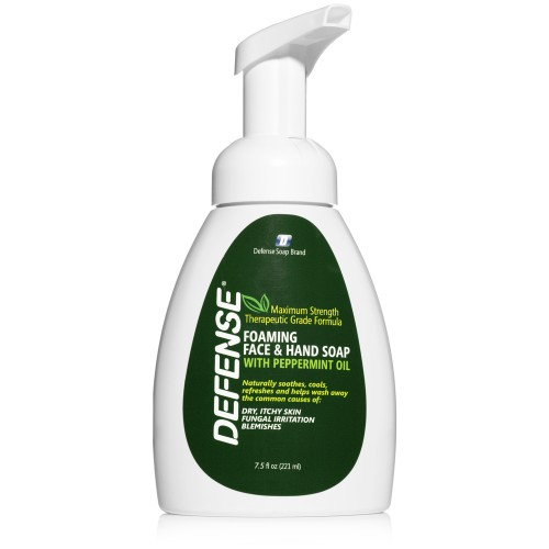 Defense Peppermint Foaming Soap - 7.5 oz.