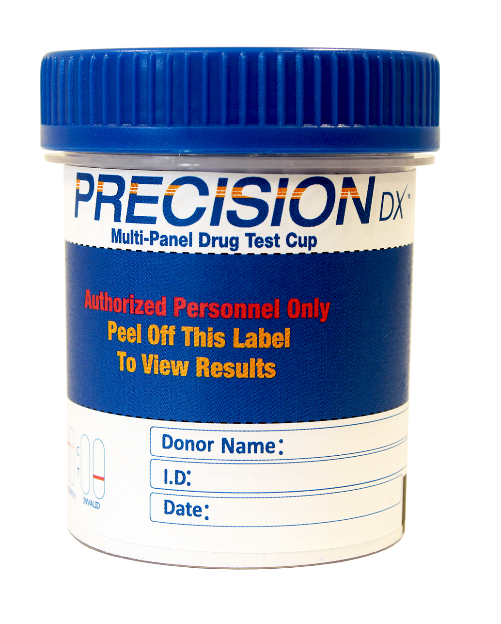 Precision Dx - 12 Panel Cup - THC/COC/AMP/OPI300/mAMP/PCP/BAR/BZO/MTD/MDMA/OXY/BUP