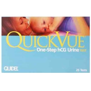 CASE OF 30  QUICKVUE ONE-STEP HCG TEST