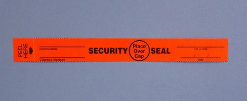Security Seals - Red Evidence Tape - 3/4 x 6-5/8 - 100/pk