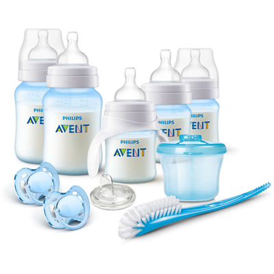 "Anti-Colic Bottle Starter Gift Set ""BLUE"" (Replaces SCD363/03)"
