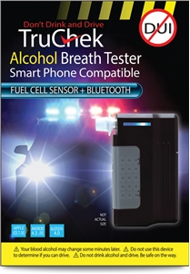 TruChek Alcohol Tester Fuel Cell + Bluetooth