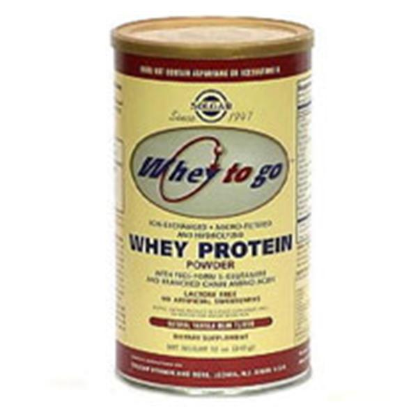 Whey To Go - Protein Powder 12 oz. - Vanilla Bean