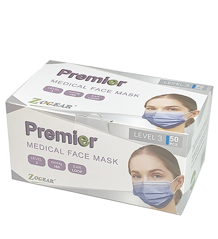 <p hidden>A</p>Surgical Mask - Level 3 High Fluid Resistant ASTM 160