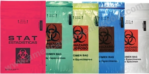 Biohazard Specimen Bags-Yellow (1000/Case)