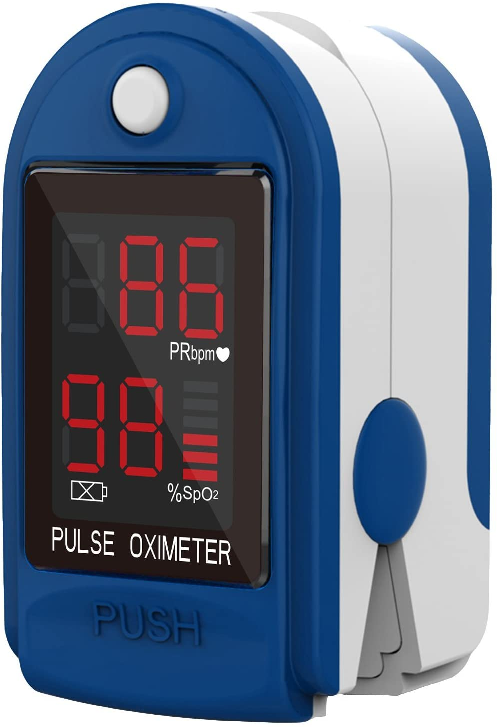 Pulse Rate Oximeter with Bar Graph LED Display <span style='color:#1ea61e;'> - Available to Ship</span>