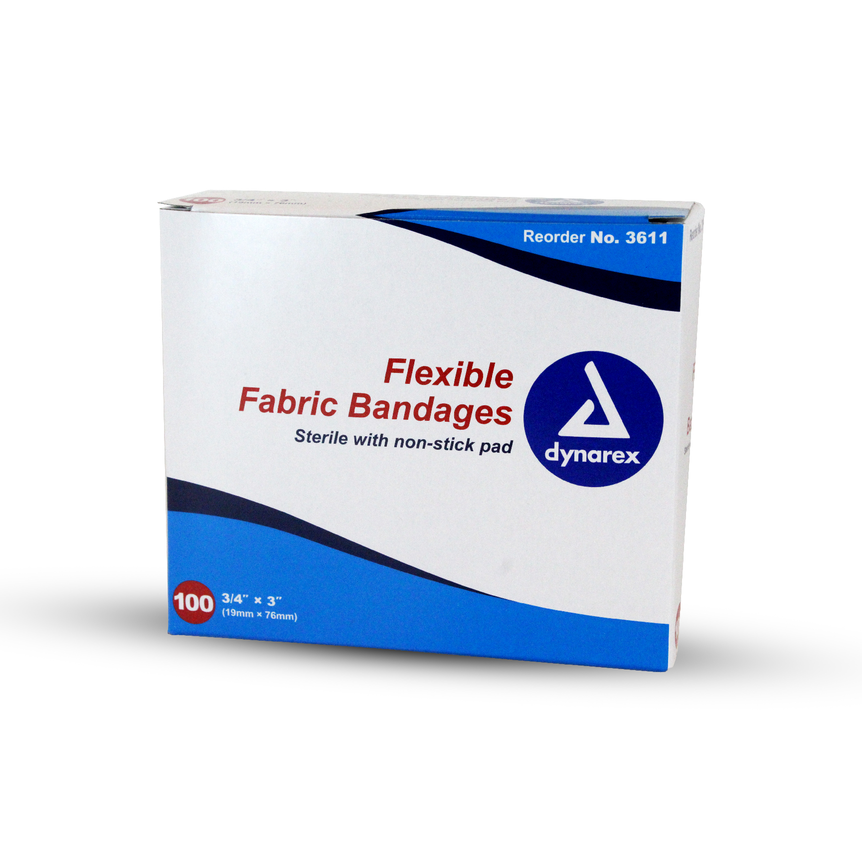 "Sterile Adhesive Bandages - 3/4""X3"""