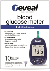 Reveal Home Test Kit - Glucose Meter