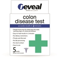 SHORT DATED Plain generic white pouch-colon test for Reveal