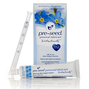 Pre-Seed Personal Lubricant