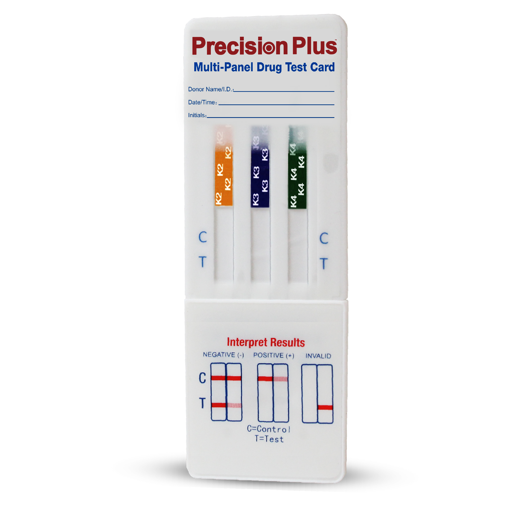 Precision Plus- 3 Panel Dip card (K2/K3/K4)